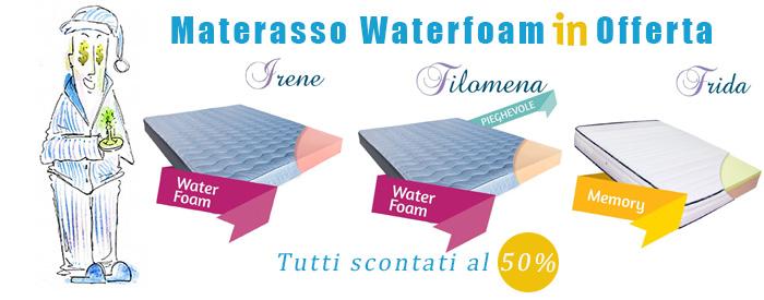 Materasso Waterfoam O Memory Foam.Materassi Waterfoam Prezzi E Offerte